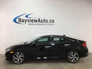 Used 2019 Honda Civic Touring - AUTO! HTD LEATHER! NAV! SUNROOF! LOADED! for sale in Belleville, ON