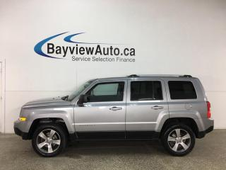 Used 2016 Jeep Patriot Sport/North - 4X4! LEATHER! ROOF! U-CONNECT! for sale in Belleville, ON