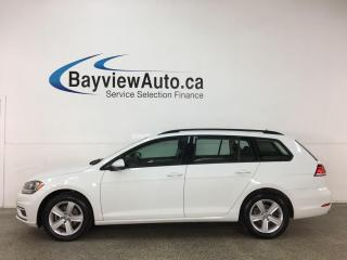 Used 2019 Volkswagen Golf Sportwagen 1.8 TSI Comfortline - 4MOTION! AWD! REVERSE CAM! ALLOYS! + MUCH MORE! for sale in Belleville, ON
