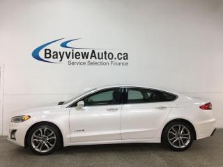 Used 2019 Ford Fusion Hybrid Titanium - HTD/COOLED LEATHER! SUNROOF! NAV! for sale in Belleville, ON