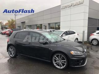 Used 2016 Volkswagen Golf R 292HP!* M6* AWD* CUIR/LEATHER CAMERA* NAVIGATION* for sale in St-Hubert, QC