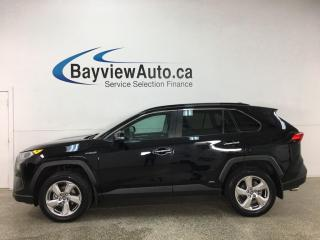 Used 2020 Toyota RAV4 Hybrid Limited - AWD! HTD/COOLED LEATHER! SUNROOF! NAV! LOADED! for sale in Belleville, ON