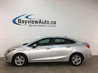 Used 2017 Chevrolet Cruze LT Auto - AUTO! HTD SEATS! REVERSE CAM! ONSTAR! PWR GROUP! + MORE! for sale in Belleville, ON