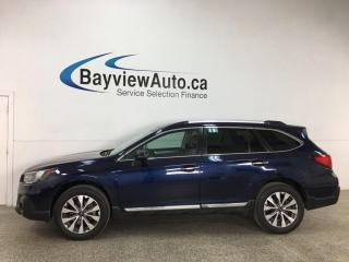 Used 2018 Subaru Outback 2.5i Touring - AWD! NAV! HTD LEATHER! SUNROOF! LOADED! for sale in Belleville, ON