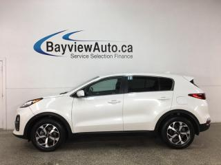 Used 2020 Kia Sportage LX - AUTO! REVERSE CAM! HTD SEATS! ALLOYS! + MORE! for sale in Belleville, ON