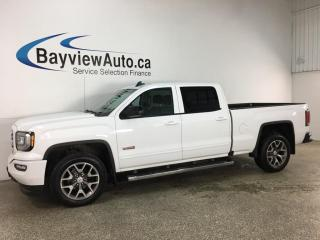 Used 2018 GMC Sierra 1500 SLT - 4X4! HTD LEATHER! SUNROOF! NAV! LOADED! for sale in Belleville, ON