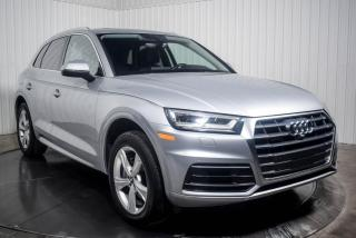 Used 2018 Audi Q5 PROGRESSIV QUATTRO CUIR TOIT PANO NAV for sale in St-Hubert, QC