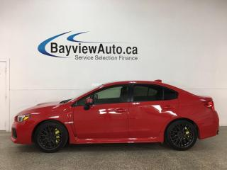 Used 2018 Subaru WRX STI - 6SPD! AWD! REVERSE CAM! FULL PWR GROUP! + MORE! for sale in Belleville, ON