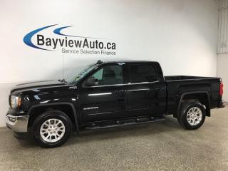 Used 2018 GMC Sierra 1500 SLE - 4X4! V8! HITCH! FULL PWR GROUP! + MORE! for sale in Belleville, ON