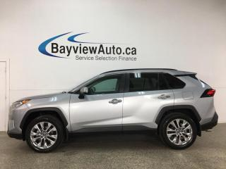 Used 2019 Toyota RAV4 Limited - AWD! HTD/COOLED LTHR! NAV! LOADED! for sale in Belleville, ON
