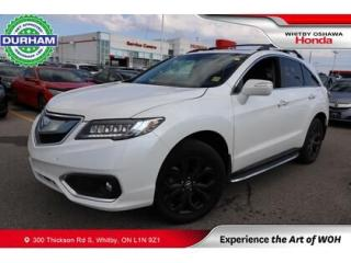 Used 2017 Acura RDX AWD 4dr Elite Pkg for sale in Whitby, ON