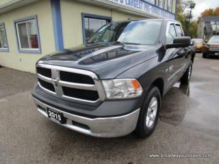 Used 2015 Dodge Ram 1500 POWER EQUIPPED TRADESMEN EDITION 6 PASSENGER 5.7L - HEMI.. 4X4.. QUAD-CAB.. SHORTY.. TOW SUPPORT.. AUX/USB INPUT.. KEYLESS ENTRY.. for sale in Bradford, ON