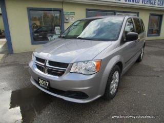 Used 2017 Dodge Grand Caravan FAMILY MOVING SE EDITION 7 PASSENGER 3.6L - V6.. ECON-BOOST PACKAGE.. MIDDLE BENCH.. REAR STOW-N-GO.. CD/AUX INPUT.. KEYLESS ENTRY.. for sale in Bradford, ON