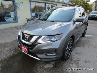 Used 2017 Nissan Rogue ALL-WHEEL DRIVE SL EDITION 5 PASSENGER 2.5L - DOHC.. NAVIGATION.. LEATHER.. HEATED SEATS.. BACK-UP CAMERA.. PANORAMIC SUNROOF.. BLUETOOTH SYSTEM.. for sale in Bradford, ON