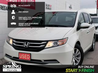 Used 2015 Honda Odyssey EX NO ACCIDENTS, ONE OWNER, NEW REAR BRAKES, TIRES WITH 75% TREAD LEFT for sale in Cranbrook, BC