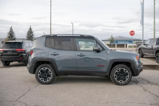 Used 2015 Jeep Renegade Trailhawk LEATHER/NAVI/BLIND SPOT DETECTION for sale in Concord, ON