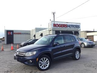Used 2017 Volkswagen Tiguan 2.99% Financing - WOLFSBURG - 2.0TSI 4 MOTION - PANO ROOF for sale in Oakville, ON