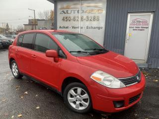 Used 2007 Nissan Versa ***1.8S,HATCHBACK,BIEN ÉQUIPÉ,MAGS,A/C** for sale in Longueuil, QC