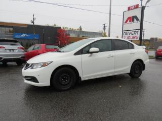 Used 2015 Honda Civic EX TOIT OUVRANT CAMERA A/C SIEGES CHAUFFANTS for sale in St-Eustache, QC