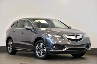 Used 2017 Acura RDX ELITE AWD + CUIR + GPS + SIÈGES CHAUFFANTS for sale in Ste-Julie, QC