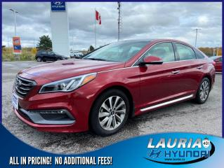 Used 2016 Hyundai Sonata 2.4L Sport Tech - LOW KMS for sale in Port Hope, ON