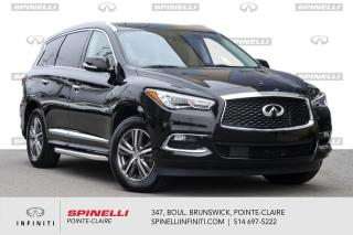 Used 2020 Infiniti QX60 PURE AWD / TOIT / DEMARREUR / CAMERA PROTEX / WOW ! for sale in Montréal, QC