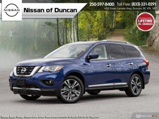New 2020 Nissan Pathfinder Platinum - Demo Unit for sale in Duncan, BC