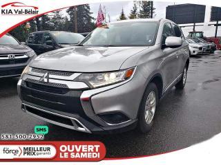 Used 2019 Mitsubishi Outlander *ES*AWD*SIÈGE CHAUFFANT*BLUETOOTH* for sale in Québec, QC