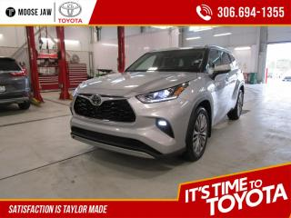 New 2020 Toyota Highlander Limited PLATINUM AWD for sale in Moose Jaw, SK