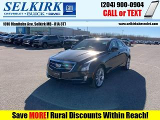 Used 2015 Cadillac ATS Sedan 2.0 Turbo Luxury  *HTD SEATS, REMOTE START* for sale in Selkirk, MB