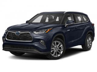 New 2021 Toyota Highlander Hybrid Limited for sale in Ancaster, ON