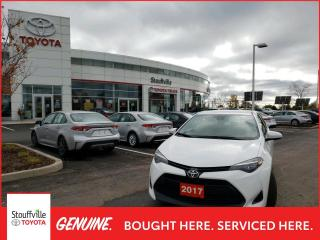 Used 2017 Toyota Corolla LE CVT - LOW KMS - BACKUP CAMERA for sale in Stouffville, ON