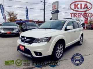 Used 2014 Dodge Journey R-T AWD/7-Seater/Low km/Navi/Leather/Roof/DVD/load for sale in North York, ON