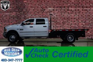 Used 2016 RAM 3500 4x4 Crew Cab ST Deck HEMI for sale in Red Deer, AB