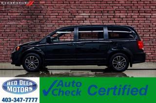 Used 2017 Dodge Grand Caravan SXT Plus DVD BCam for sale in Red Deer, AB