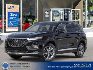 New 2020 Hyundai Santa Fe Preferred 2.4 w/Sun & Leather Package for sale in Huntsville, ON