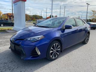 Used 2017 Toyota Corolla SE UPGRADE-SUNROOF+ALLOYS! for sale in Cobourg, ON