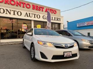 Used 2012 Toyota Camry HYBRID 4dr Sdn HYBRID! NO ACCIDENT! ONE OWNER! for sale in Toronto, ON