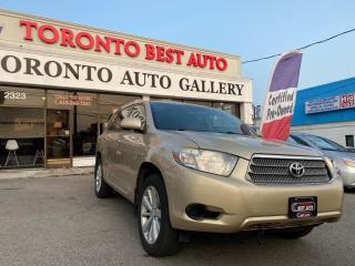 Used 2008 Toyota Highlander HYBRID 4WD 4DR for sale in Toronto, ON