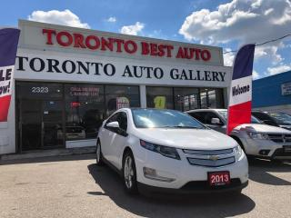 Used 2013 Chevrolet Volt 5dr HB  PLUG IN! ONE OWNER! ELECTRIC! GAS SAVER! WELL MNTND! for sale in Toronto, ON