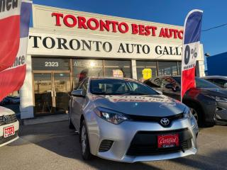 Used 2016 Toyota Corolla 4dr L Sdn  ONE OWNER! LOW KM! for sale in Toronto, ON