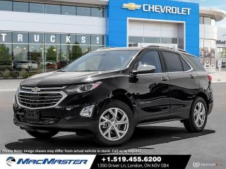 New 2021 Chevrolet Equinox Premier TURBO | LUXURY PKG | HEATED SEATS | AWD | BLIND SPORT SENSOR | FORWARD COLLISION ALERT for sale in London, ON