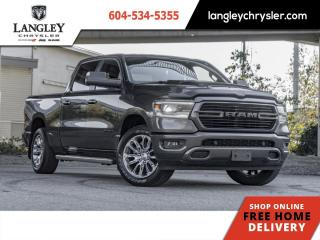 Used 2019 RAM 1500 Sport  Tonneau / Accident Free / Leather for sale in Surrey, BC