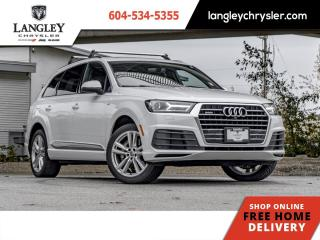 Used 2017 Audi Q7 2.0T Progressiv  Loaded / Single Owner / Locally Driven for sale in Surrey, BC