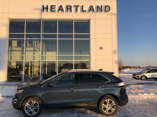 Used 2016 Ford Edge Titanium LEATHER | NAVIGATION | ADAPTIVE CRUISE CONTROL-USED FORD DEALER for sale in Fort Saskatchewan, AB