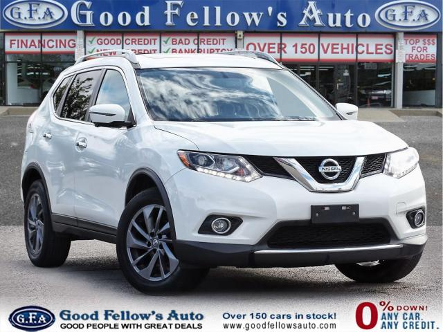2016 Nissan Rogue SL MODEL, AWD, 360° CAMERA, PANORAMIC ROOF, NAVI