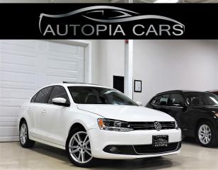 Used 2014 Volkswagen Jetta Sedan 2.0 TDI HIGHLINE  MANUAL NAVIGATION RAER VIEW CAM for sale in North York, ON