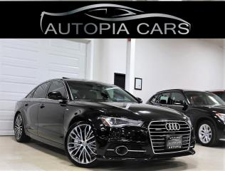 Used 2016 Audi A6 QUATTRO 3.0T TECHNIK S LINE BLIND SPOT NAVI for sale in North York, ON