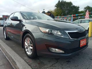 Used 2013 Kia Optima LX-EXTRA CLEAN-5 SPD-ONLY 138K-BLUETOOTH-AUX-USB for sale in Scarborough, ON