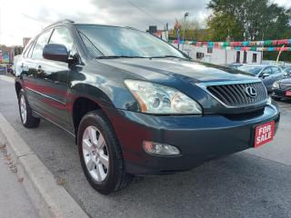 Used 2008 Lexus RX 350 LEATHER-NAVI-BK UP CAM-SUNROOF-BLUETOOTH-ALLOYS for sale in Scarborough, ON